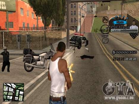C-HUD Old Legend pour GTA San Andreas
