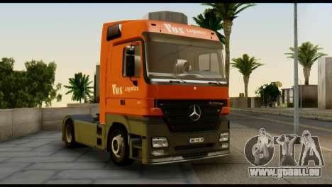 Mercedes-Benz Actros PJ1 pour GTA San Andreas vue de droite