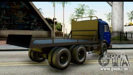 KamAZ 65115 de Remorquage DPS pour GTA San Andreas laissé vue