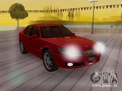 Saab 95 pour GTA San Andreas salon