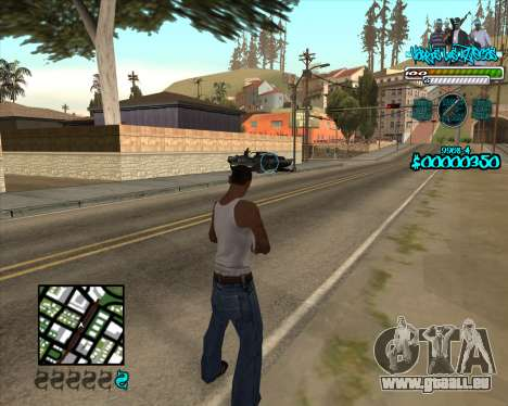 C-HUD for Aztecas für GTA San Andreas