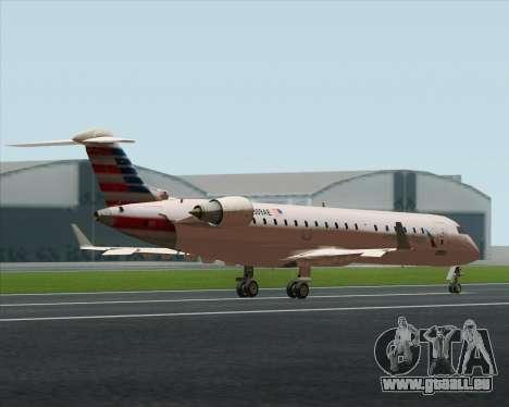 Bombardier CRJ700 American Eagle Airlines für GTA San Andreas Innenansicht