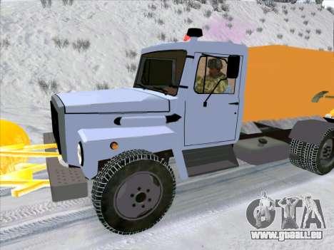 GAZ 3309 Neige pour GTA San Andreas vue de droite