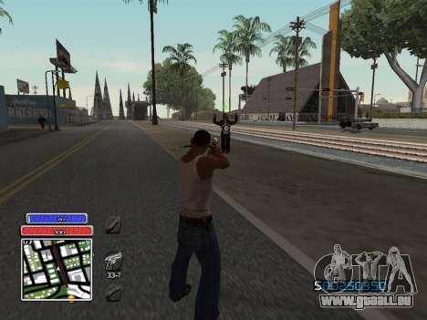 C-HUD Unique v4.1 für GTA San Andreas
