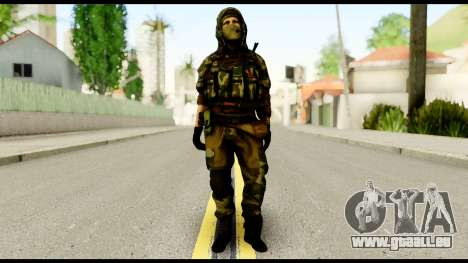 Sniper from Battlefield 4 pour GTA San Andreas