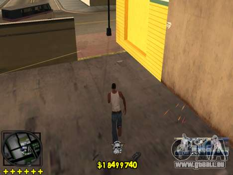 C-HUD Ghetto Life für GTA San Andreas fünften Screenshot