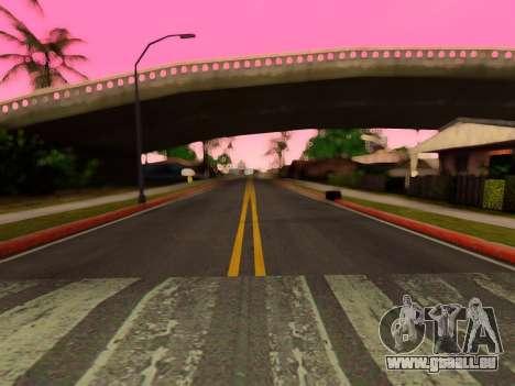 Verbesserte textur von Straßen für GTA San Andreas her Screenshot