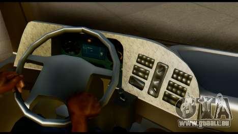 Mercedes-Benz Actros PJ1 pour GTA San Andreas sur la vue arrière gauche