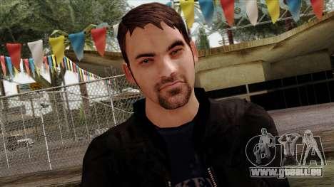 GTA 4 Skin 46 pour GTA San Andreas troisième écran