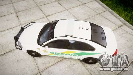 Chevrolet Impala Martin County Sheriff [ELS] pour GTA 4 est un droit