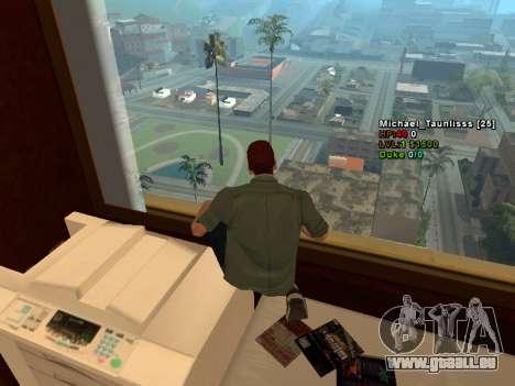 3D HUD CLEO pour GTA San Andreas troisième écran