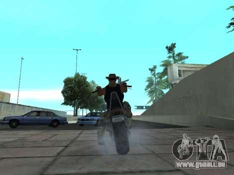 Angel GTA 4 TLaD pour GTA San Andreas sur la vue arrière gauche