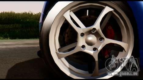 GTA 5 Dewbauchee Rapid GT Coupe [HQLM] pour GTA San Andreas sur la vue arrière gauche