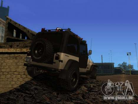 Jeep Wrangler 1986 Trophée pour GTA San Andreas laissé vue