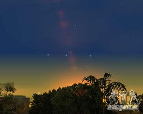 Realistische Himmel (Sky Mod) für GTA San Andreas