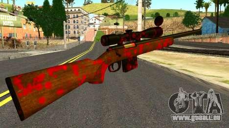 Rifle with Blood für GTA San Andreas zweiten Screenshot