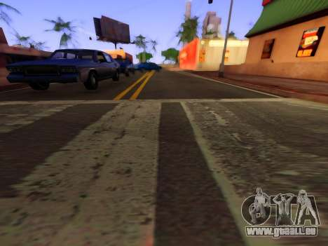 Verbesserte textur von Straßen für GTA San Andreas dritten Screenshot