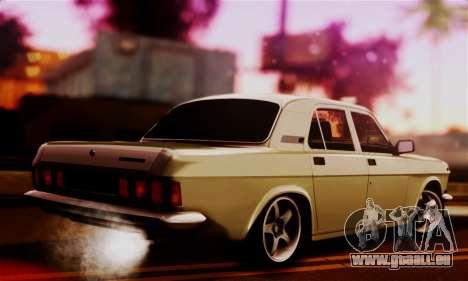 GAZ 24 Volga pour GTA San Andreas laissé vue