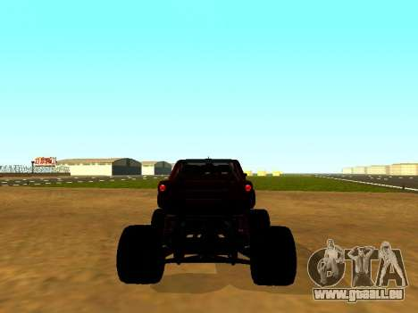 SuperMotoXL Zen MaXXimus CD 17.1 XL-HT pour GTA San Andreas sur la vue arrière gauche