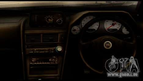 Nissan Skyline R34 Z pour GTA San Andreas vue de droite