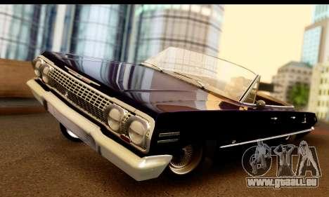 Chevrolet Impala 1963 für GTA San Andreas