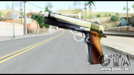 Colt 1911A1 from Metal Gear Solid für GTA San Andreas
