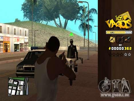 C-HUD Los Santos Vagos Gang pour GTA San Andreas cinquième écran