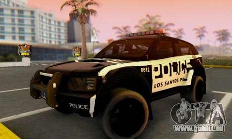 Bowler EXR S 2012 v1.0 Police für GTA San Andreas
