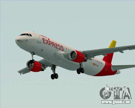 Airbus A320-200 Iberia Express pour GTA San Andreas vue de côté