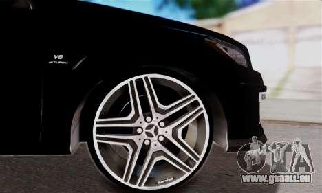 Mercedes-Benz ML63 AMG pour GTA San Andreas vue de côté
