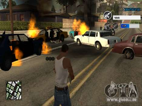 C-HUD by SampHack v.22 für GTA San Andreas zweiten Screenshot
