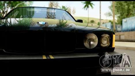 BMW E32 für GTA San Andreas rechten Ansicht