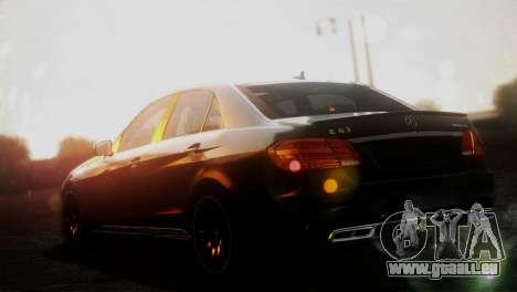 Mercedes-Benz E63 AMG 2014 für GTA San Andreas linke Ansicht
