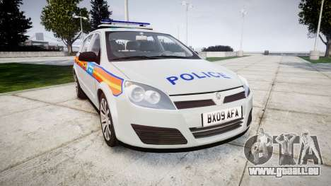 Vauxhall Astra 2009 Police [ELS] 911EP Galaxy pour GTA 4