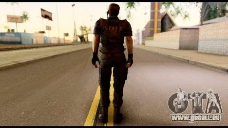 Resident Evil Skin 11 für GTA San Andreas zweiten Screenshot