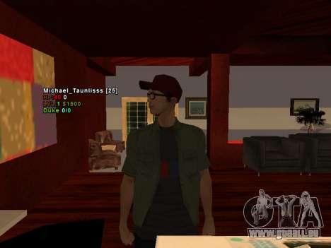3D HUD CLEO pour GTA San Andreas deuxième écran