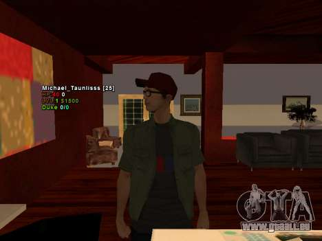 3D HUD CLEO für GTA San Andreas zweiten Screenshot