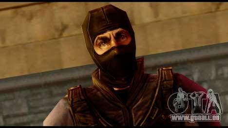 Counter Strike Skin 4 pour GTA San Andreas troisième écran