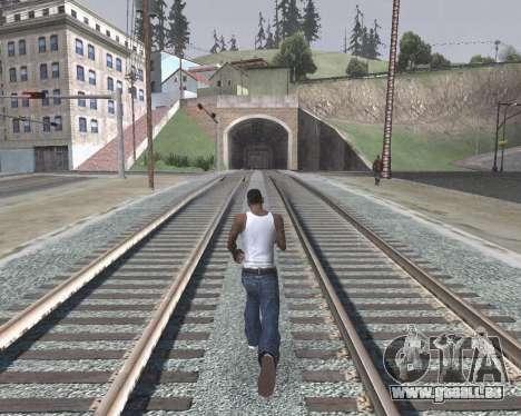 Colormod High Color pour GTA San Andreas cinquième écran