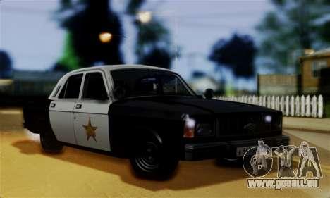 GAZ 3102 Volga - Shérif pour GTA San Andreas