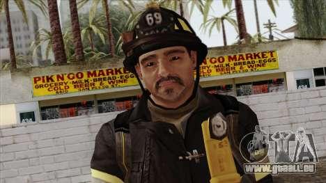 GTA 4 Skin 45 pour GTA San Andreas troisième écran
