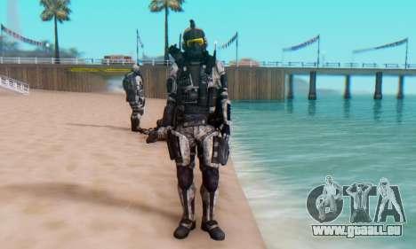 C.E.L.L. Soldier (Crysis 2) pour GTA San Andreas cinquième écran