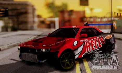 Nissan Skyline R34 HELL DT für GTA San Andreas