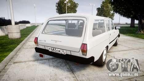 GAZ 31022 rims1 pour GTA 4 Vue arrière de la gauche