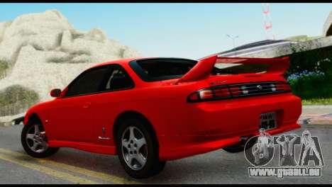 Nissan Silvia S14 Ks pour GTA San Andreas laissé vue
