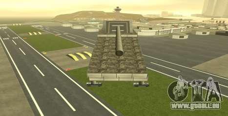 Landkreuzer P. 1500 Monster for GTA San Andreas pour GTA San Andreas troisième écran