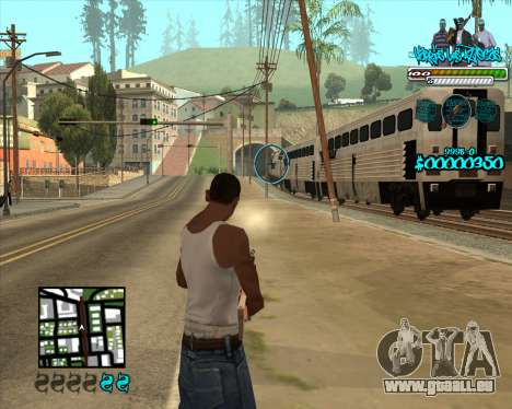 C-HUD for Aztecas für GTA San Andreas dritten Screenshot