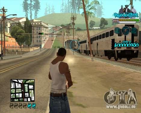 C-HUD for Aztecas pour GTA San Andreas troisième écran