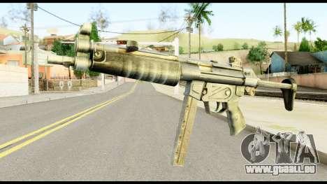 MP5 avec Décomposé Cul pour GTA San Andreas