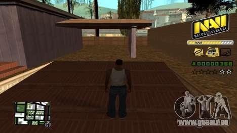 C-HUD NAVI für GTA San Andreas zweiten Screenshot